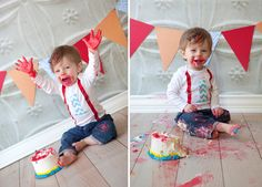 first birthday cakes | alison donahue photography: First Birthday - Cake Smash