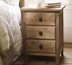 Love the reclaimed finish w the muted southwestern tones