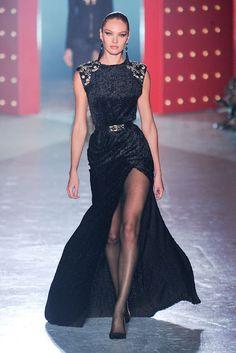 Candice Swanepoel ✰ Jason Wu F/W 2012 HQ+ backstage