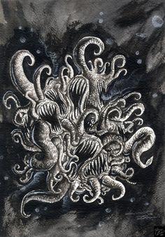 Azathoth by CrodeArt