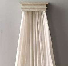 Washed Silk Canopy Panel