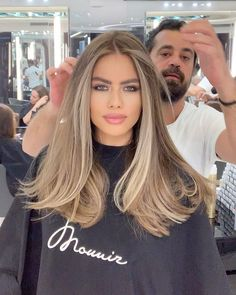 Brown Hair Balayage, Brown Blonde Hair, Light Brown Hair, Hair Color Balayage, Brunette Hair, Hair Highlights, Blonde To Brunette Before And After, Balayage Brunette To Blonde, Blonde Hair For Brunettes