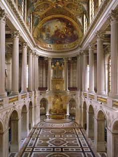 french chapel | virtual visit of the Chapel Royal at Versailles