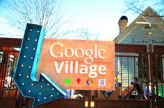 Google Village.  SXSW Interactive 2012. SXSWi in Austin TX. Photo by Esteban Contreras.