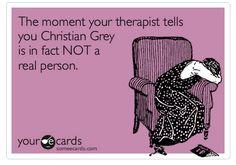 duh #ChristianGrey #FiftyShadesOfGrey
