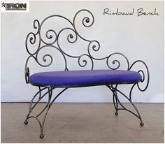 The Iron Chinchilla Rimbaud Bench