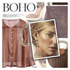 """""""Bohemian"""" by pokadoll ❤ liked on Polyvore featuring Fenton"""