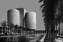 Militärspital, Bagdad 1974 | IttenBrechbühl Bagdad, Installation Art, Pisa, Planners, Architects, Tower, History, Building, Travel