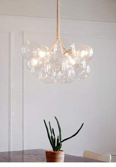 Features: High Quality: Metal And Glass Material, Resistant To Fade, Rust And Corrosion Modern Design Durable, It Is An Ideal Choice For Houses With Modern, Simple Or Nordic Style decoration. Chandelier Bulb: G4 Light Socket Work Well For Led, CFL, Incandescent Bulb(Bulb Not Included In The Product). Whether Your Ceili Luxury Chandelier, Glass Material, Nordic Style, Incandescent Bulbs, Rust, Modern Design, Houses, Ceiling Lights, Led