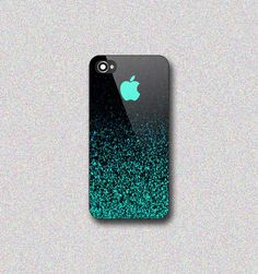 Mint Sparkle  Print on Hard Cover for iPhone by InspiredYourDevice, $13.00