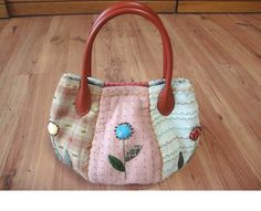 Simple and convenient bag.  Patchwork, Quilting.  DIY Picture Tutorial.  Simple and convenient bag.  Patchwork (patchwork, quilting). 1 of 2