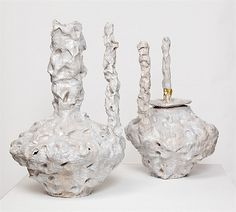 Tasting, Two Spouted Pots by Andrew Lord