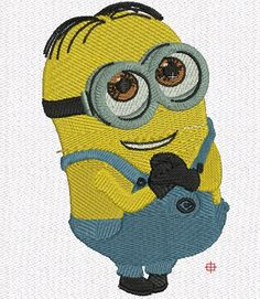 minion shame machine embroidery design 2 size by fontembroidery