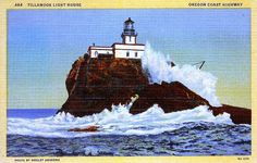 Tillamook Rock Lighthouse in Oregon