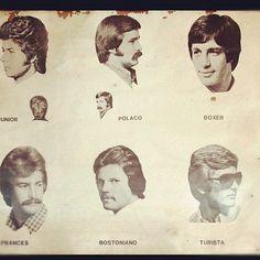 1970's men's hair styles.