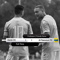 #PAOKALT 1-1 #PreSeason #FriendlyGame #OwnTheTop Fc 1, Scores, Finals, Seasons, Games, Movies, Movie Posters, Fictional Characters, Instagram