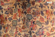 MAGIC GARDEN Print cork fabric - best available - Made in Portugal - Choose Size, textile quality, USA Seller - New Arrivals - Cork Fabric - Tailoring & Sewing Cork Fabric, Paisley Print, Portugal, Vintage World Maps, Textiles, Magic, Sewing, Garden, How To Make