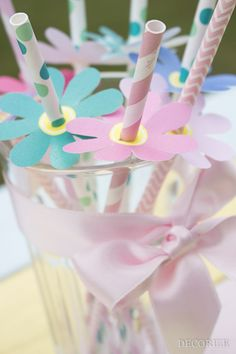 Decorize Strohhalm-Blumen (5 von 7)