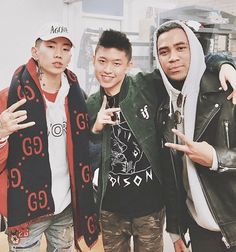 Jay Park, Rich Brian and Chacha