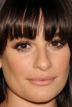 Close-up of Lea Michele at 20th Century Fox's Comic-Con 2015 party. http://beautyeditor.ca/2015/07/19/best-celebrity-beauty-looks-ashley-madekwe