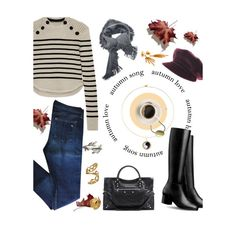 """fall love"" by visibleinterest ❤ liked on Polyvore featuring Isabel Marant, rag & bone, Balenciaga, jewelry and Visibleinterest"