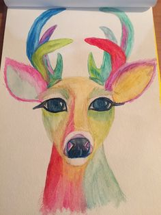 Big Eye Doe Big Eyes, My Arts, Painting, Painting Art, Paintings, Painted Canvas, Drawings