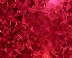 Red Ruby Lowpoly Wallpaper
