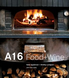 A cookbook from one of my fav SF restaurants, A16. Has excellent wine tutorial section.