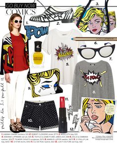 Comics - Celebrity Style and Fashion from WhoWhatWear