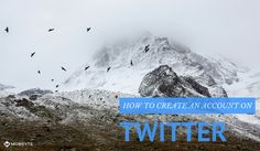 How to create an account on twitter