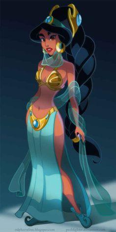 "Slave Princess Jasmine | 7 Disney Princesses Who Actually Belong In ""Star Wars"""