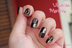 Nails Quadriculadas