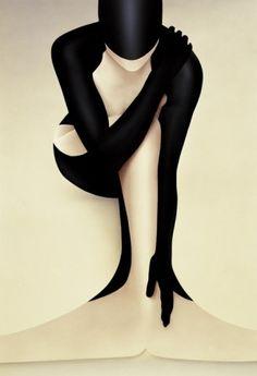 Guardian, mermaid art, James Watson, futuristic fashion, future fashion, futuristic art, mermaid, girl, fashion girl, art, black by FuturisticNews