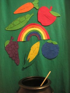 Flannel Friday Inspiration Post: Magical Rainbow Stew - RovingFiddlehead KidLit