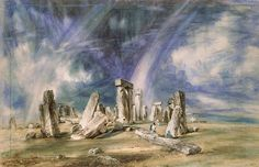 Stonehenge, John Constable, about 1836, watercolour. l Victoria and Albert Museum
