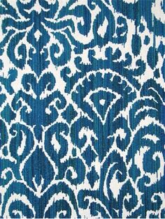Aegean - Barrow Fabric, Merrimac Textiles, ikat jacquard fabric, soft and durable poly / rayon. Ikat Fabric, Jacquard Fabric, Drapery Fabric, Fabric Decor, Fabric Design, Ethnic Patterns, Textures Patterns, Fabric Patterns, Complimentary Color Scheme