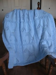 FREE KNIT BABY BLANKET PATTERN