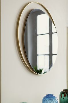 Home Decor Ideas selected 20 Luxury Wall Mirrors Designs for your Home. With these expensive mirrors, you'll get a luxury interior design without any effort. Metal Mirror, Diy Mirror, Modern Mirror Design, Modern Mirrors, Lave Main Design, Tinted Mirror, Spiegel Design, Mirror Inspiration, Luxury Mirror