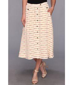 The portland collection by pendleton mckenzie bridge skirt cream longbow silk Lace Skirt, Midi Skirt, Longbow, Sewing Clothes, Portland, Bridge, Free Shipping, Silk, Cream