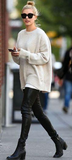 22 Looks Que Te Convencerán De Que Necesitas Un #sweater Oversized Ahora Ya   Cut & Paste – Blog de Moda