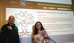 2013 05 - PROMOCION EMPRESAS CMI ARENA .El equipo de cosaxcosa. Asturias, Gijón, cosaxcosa, trueque, intercambio, consumo colaborativo, swap, collaborative consumption