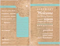 DIY Wedding Fan Program - Printable File - Rustic, Yellow, Custom, Vintage, Shabby Chic wedding