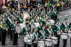 St. Patrick's Day Parade (2013) In Dublin - Brewster High School Marching Bears, New York, USA by infomatique, via Flickr