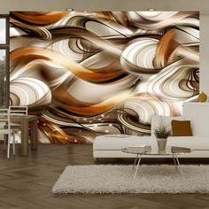 """impressive and effectively eye-catching this large wallpaper mural """" Tangled Madness """" looks fantastic up and will transform your Room into something fabulous! This wallpaper mural will give off the wow factor in any room or workplace. 3d Wallpaper Mural, Kids Room Wallpaper, Home Wallpaper, Cafe Design, House Design, Panneau Mural 3d, Wardrobe Door Handles, 3d Home, Beautiful Wall"""