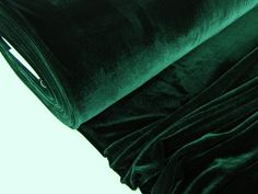 Stretch-Samt-Bottlegreen #11077-5031