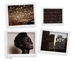 """""""Joy"""" by mcheffer ❤ liked on Polyvore featuring art"""