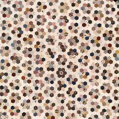 England: 1800-30, Grandmother's Garden quilt