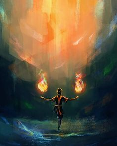 """ Fire Bending "" 