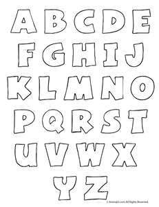 Alphabet Letters To Cut Out | Alphabet Art | Nestlé Family ...