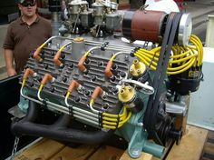Dual Plug engine....now that's different!